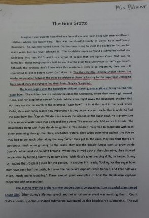 theme essays dilworth th grade  of an essay so the reader knows what you re about to write about 7 drafting a conclusion paragraph restating the thesis and then explaining briefly